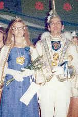 Gemens erstes Prinzenpaar