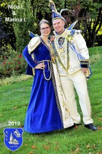 Prinzenpaar 2018-2019